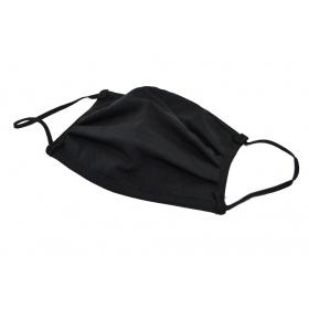 Μάσκα βαμβακερή πολλαπλών χρήσεων μαύρη
