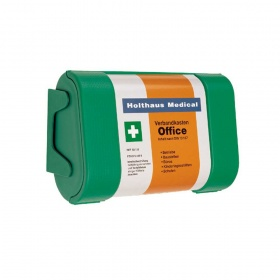 Holthaus Medical operating aid kit Office, DIN 13157, wall bracket
