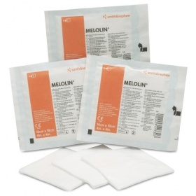 MELOLIN Low Adherent Absorbent Dressings 10 x 10cm