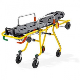 SPENCER CROSS ROLL-IN STRETCHER TROLLEY WITH MATTRESS