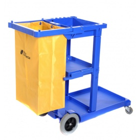 Janitors Cart / Cleaning Trolley - Complete