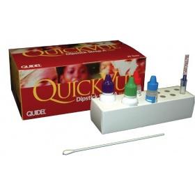 Τεστ στρεπτόκοκκου QUIDEL QUICKVIEW DIPSTICK STREP A test 25 τεμ