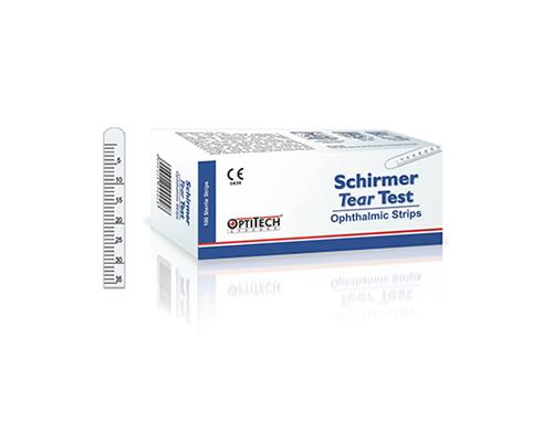 Ταινίες οφθαλμικές Schirmer Test 100 τεμάχια