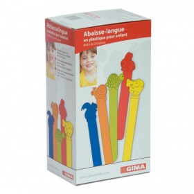 Paediatric tongue depressors 50pcs