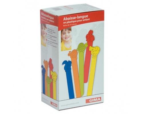 Γλωσσοπίεστρα παιδιατρικά πλαστικά 50 τεμαχίων