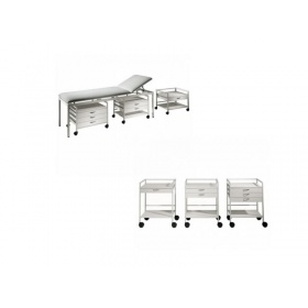 Medical trolley mensa with (1)one drawer