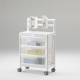 Τροχήλατο τραπεζάκι  MRI για μαγνητικό τομογράφο HGW 100 MRT