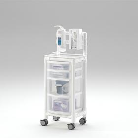 Τροχήλατο τραπεζάκι  MRI για μαγνητικό τομογράφο KTW 100 HS MRT