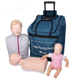 Little Family Pack CPR set (1 adult + 1 child + 1 infant )