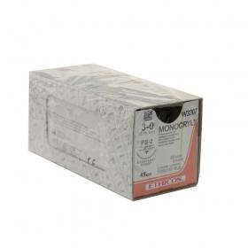 Ράμμα Ethicon Monocryl  απορροφήσιμα 4/0 45cm W3206