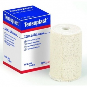Επίδεσμοι αυτοκόλλητοι ελαστικοί υποαλλεργιοί Tensoplast  7.5 cm x 4.5 m