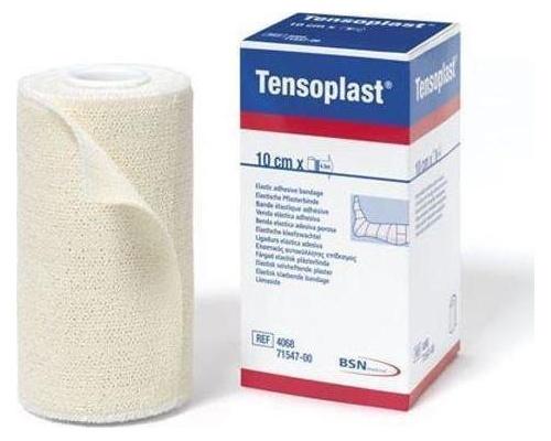Επίδεσμοι αυτοκόλλητοι ελαστικοί υποαλλεργικοί Tensoplast 10 cm x 4.5 m