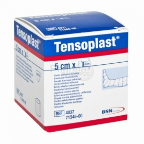Επίδεσμοι αυτοκόλλητοι ελαστικοί υποαλλεργικοί Tensoplast 5cm x 4.5 m