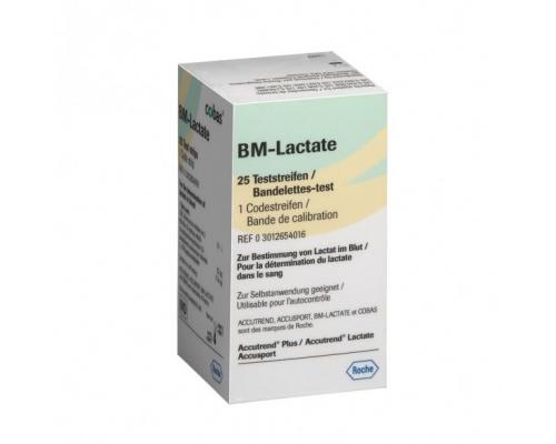 Ταινίες λακτόζης ROCHE Accutrend BM-Lactate (25 τεμ)