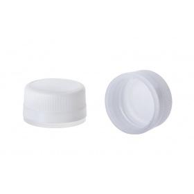 Πλαστικό πώμα ασφαλείας PP28 λευκό