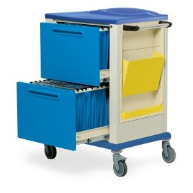 Patient file rack  trolley K816175