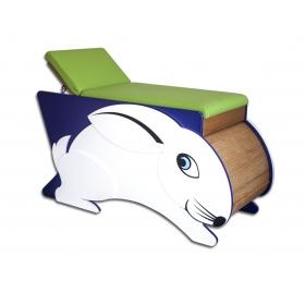 Παιδιατρικό Εξεταστικό Κρεβάτι Λαγουδάκι