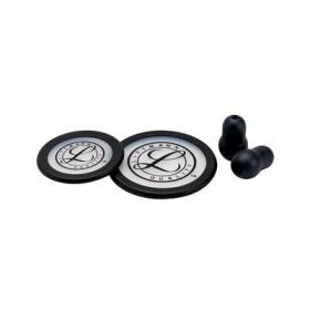 Κιτ αναλωσίμων στηθοσκοπίου 3M™ Littmann® Classic III + Cardiology IV, μαύρο 40016