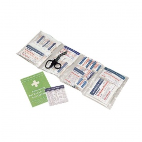 First aid refill pack 126 pcs DIN 13169