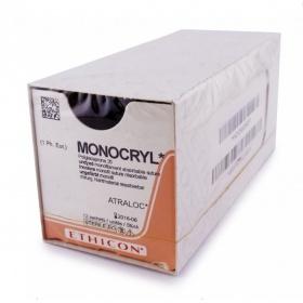 Ράμματα Ethicon Monocryl  απορροφήσιμα 6/0 13mm 45cm W3215