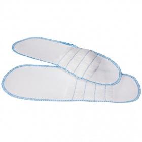 Disposable slipper nonwoven