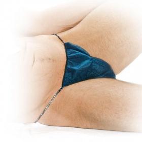 String Disposable briefs for men