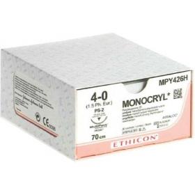 Ράμμα Ethicon Monocryl απορροφήσιμο 2/0 24mm 70cm MPY684H