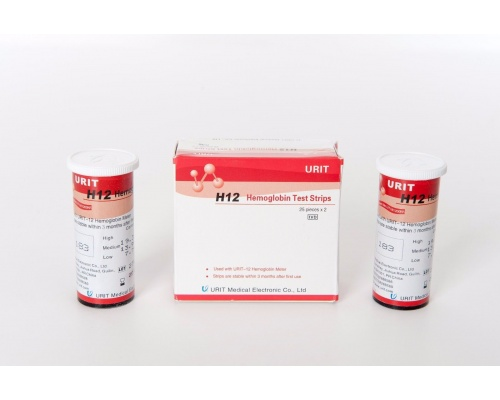 Ταινίες μέτρησης αιμοσφαιρίνης H12 Hemoglobin Test Strip 25 τμχ