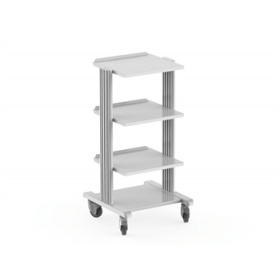 SMART CART Trolley with 4 Shelves