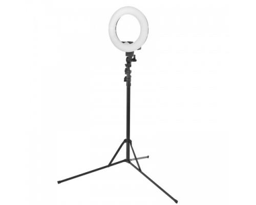 Ring Lamp Ring Light 12'' - 35W LED με μαύρο τρίποδο