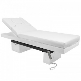 Electric Spa Bed with Led Light LUXURY 3815B white