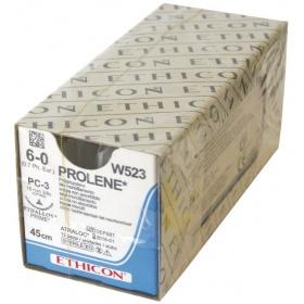 Ράμματα Ethicon Prolene μη απορροφήσιμα 6/0 15mm 45cm W523