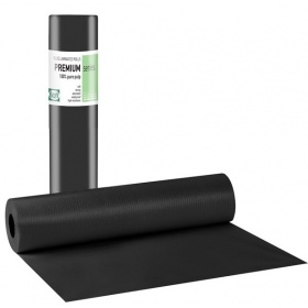Black plastic couch roll papers 50 x 50