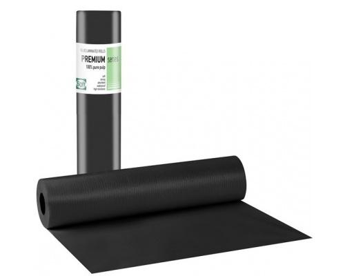 Χαρτί εξεταστικό πλαστικοποιημένο μαύρο 50 cm x 50 m