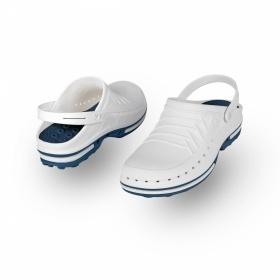 Σαμπώ Clog 02 μπλε-λευκό