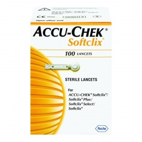 Accu-chek softclix lancets 100 τεμάχια βελόνες μέτρησης σακχάρου