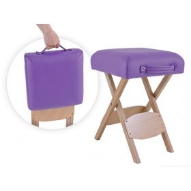 Folding wooden stool  FLEXI
