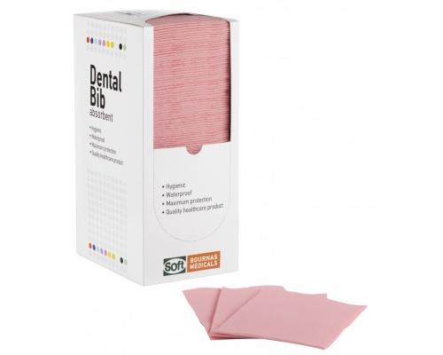 Οδοντιατρική Πετσέτα Ροζ 125τμχ