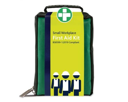 Φαρμακείο Α' Βοηθειών μικρών εργασιακών χώρων BS8599-1:2019 σε Υφασμάτινη θήκη