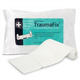 Επίδεσμος Αιμοστατικός Reliance Trauma Fix με Επίθεμα 15 x 18 cm
