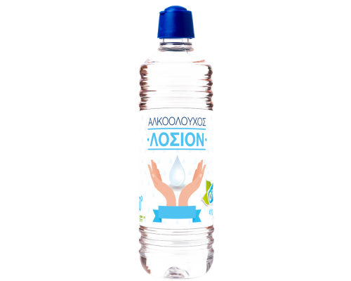 Οινόπνευμα λοσιόν 70 βαθμών OPEN CARE 410 ml