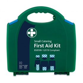 Small Catering First aid kit , filled, first-aid book / pen MasterChef