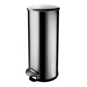 30 litre Delluxe round pedal bin