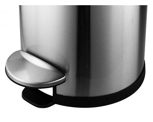 Κάδος στρόγγυλος deluxe step inox  με υδραυλικό μηχανισμό 30lit
