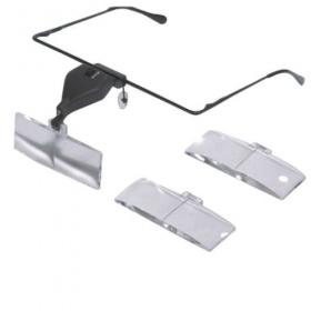 Λούπες αισθητικής με 3 επιλογές μεγέθυνσης και Φωτισμό LED R-19157