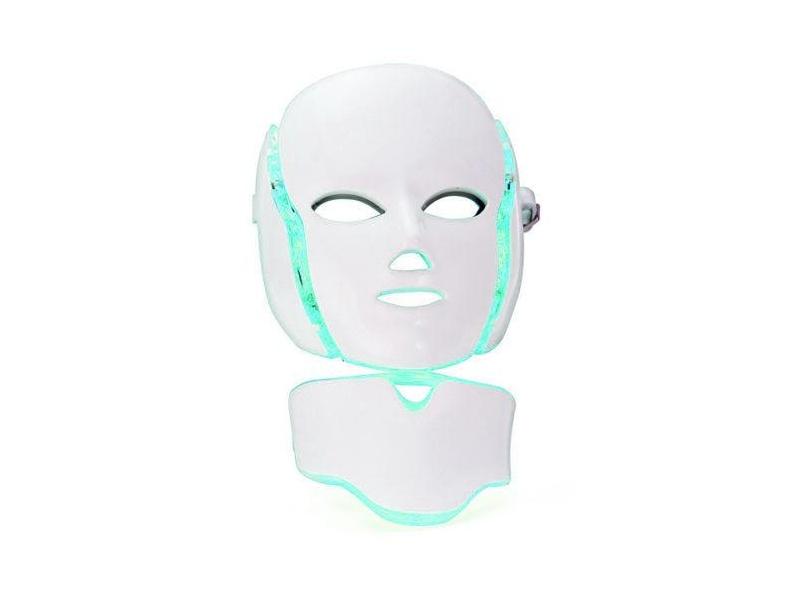 7f8bb5f71a7 Μάσκα Φωτοθεραπείας LED 7 Χρωμάτων για Πρόσωπο και Λαιμό