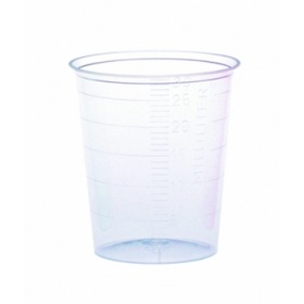 Ποτηράκια φαρμάκων πλαστικά 75 τεμαχίων
