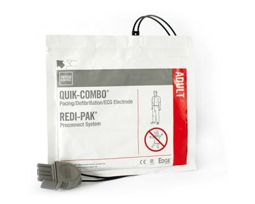 Ηλεκτρόδια Απινίδωσης Ενηλίκων για Απινιδωτή LIFEPAK Physio-Control Quik Combo Redi-Pak