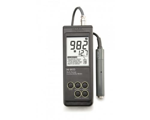 Φορητό Αγωγιμόμετρο ΗΙ 9033