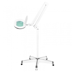 Magnifying Glass LED SUPREME 6028 with dimmable light and trolley stand